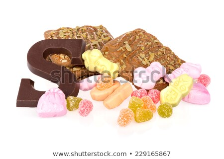 typical dutch letters from chocolate Stock photo © compuinfoto