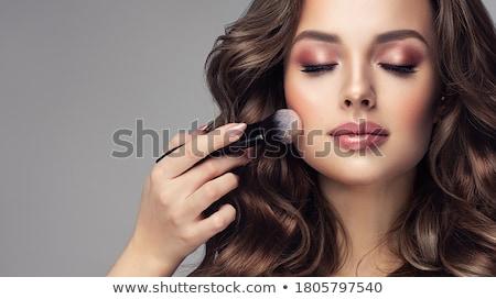 Nő bőrpír arc divat test modell Stock fotó © photography33