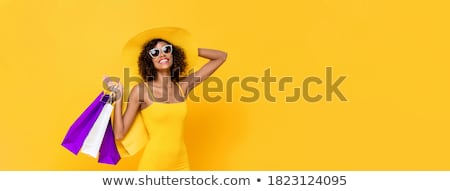 mulher · óculos · de · sol · moda · olhos · projeto - foto stock © photography33