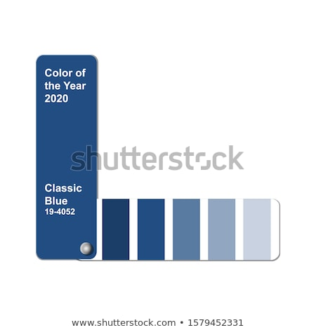 Color guide for selection isolated on white background Stock photo © inxti
