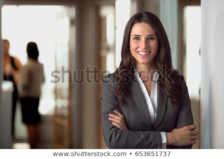 Woman in suit Stock photo © photography33