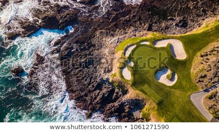 Playa primer plano vista mojado superficial Foto stock © mahout