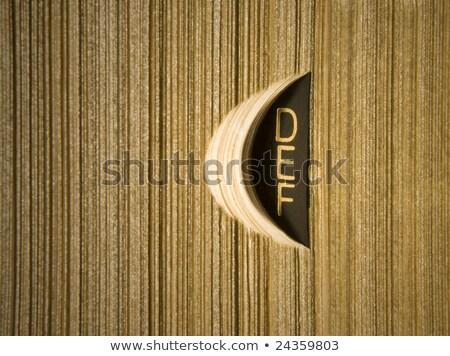 Szótár d betű angol lexikon kék irat Stock fotó © tangducminh