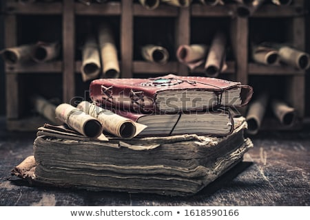ancient knowledge stock photo © lithian