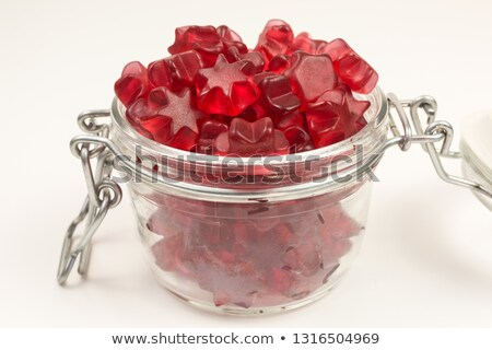 Gummy wine glass Stock photo © Stootsy