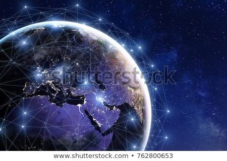 スペース · 物事 · オブジェクト · サイエンスフィクション · 月 · 衛星 - ストックフォト © marcopolo9442