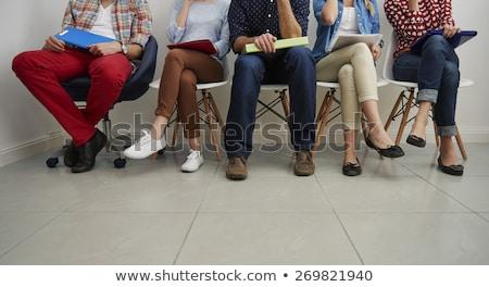 Legs of business people in line stock photo © wavebreak_media