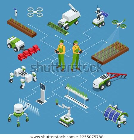 tedarik · zincir · yönetim · düğme · örnek · dizayn - stok fotoğraf © tashatuvango