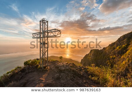 Crucifix Monument in Linz Stock photo © chrisdorney