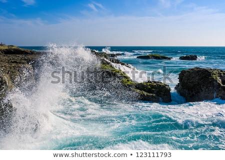 海岸 エクアドル 水 市 風景 ストックフォト © pxhidalgo