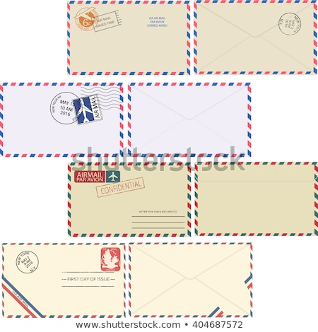 Envelope by air mail with white space for text Stock photo © maxmitzu