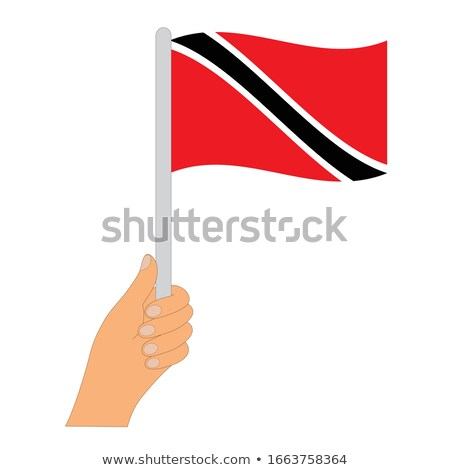 banderą · komputera · wygenerowany · ilustracja · jedwabisty · wygląd - zdjęcia stock © tashatuvango
