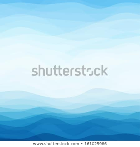 Blue water background with waves Stock photo © mikdam
