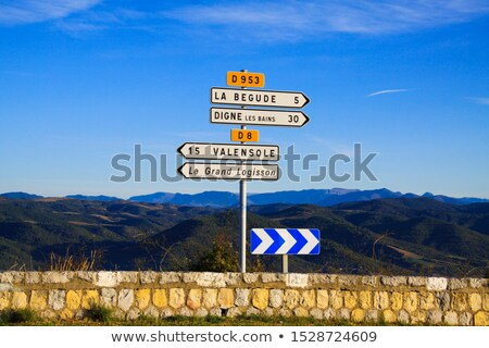 DueD on Highway Signpost. Stock photo © tashatuvango