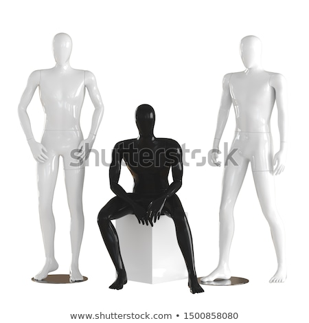 3d man in standing pose Stock photo © Istanbul2009