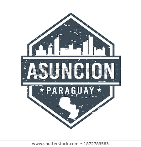 Postage stamp icon of paraguay Stock photo © MikhailMishchenko