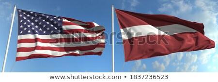 USA Letland Verenigde Staten amerika half land Stockfoto © tony4urban