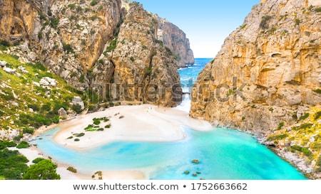 пляж · Майорка · острове · морем · синий · расслабиться - Сток-фото © wjarek