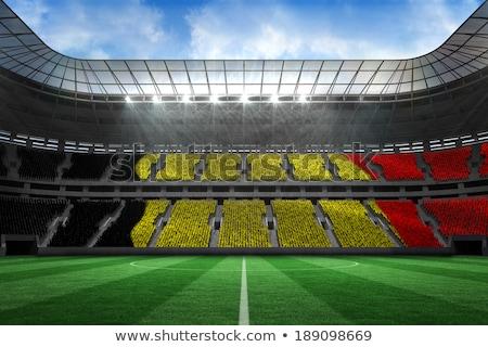 Digitálisan generált Belgium zászló fehér Stock fotó © wavebreak_media