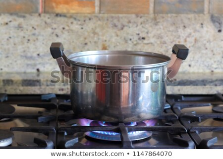 black and red gas cooker  Stock photo © ozaiachin