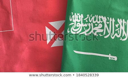 Saudi Arabia and Wallis and Futuna Flags Stock photo © Istanbul2009