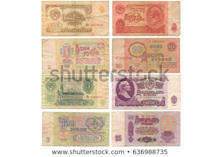 soviet rubles Stock photo © frescomovie
