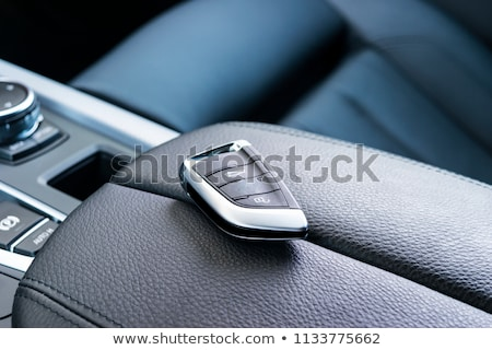 the steering of the car close up stock photo © paha_l