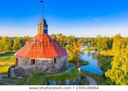 romok · öreg · kastély · középkori · régió · fal - stock fotó © mikko