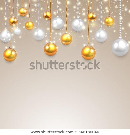 Noel eps 10 gri sanat Stok fotoğraf © rommeo79