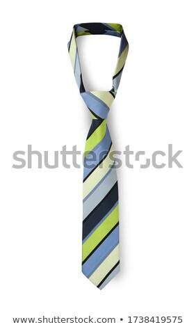 галстук изолированный белый человека работу одежды Сток-фото © shutswis