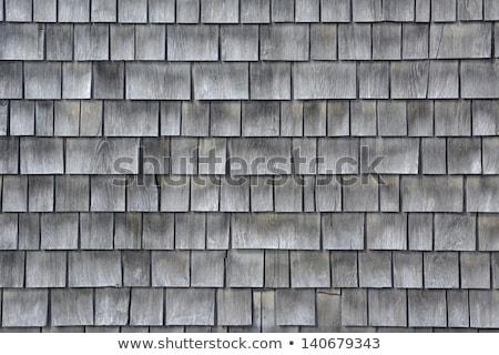 Cape cod bois mur détail Massachusetts architecture Photo stock © lunamarina