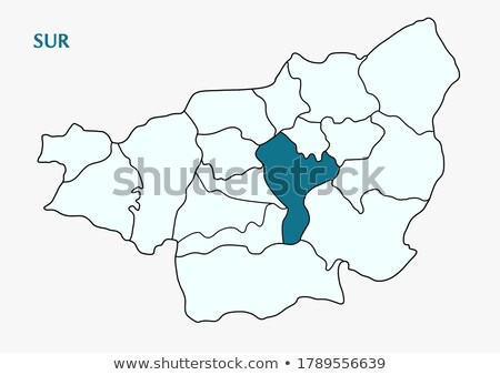 Map of Diyarbakir - Sur is pulled out Stock photo © Istanbul2009