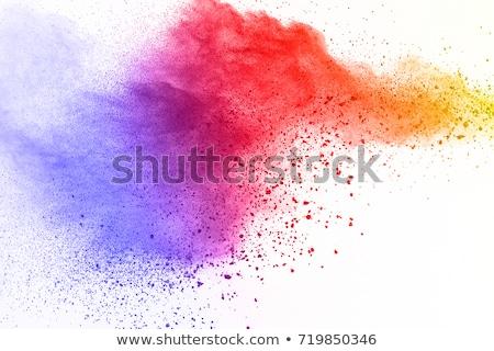 Abstract artistiek kleurrijk splash hand achtergrond Stockfoto © pathakdesigner