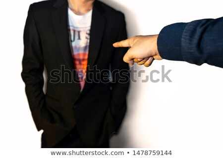Getting fired from job, office manager showing way out Stock photo © stevanovicigor