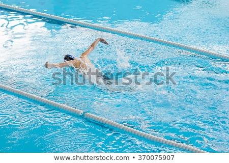 temiz · su · hat · havuz · banyo · yüzme · temizlik - stok fotoğraf © pixinoo