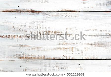 gebarsten · houten · achtergrond · turkoois · verweerde · houten - stockfoto © stevanovicigor