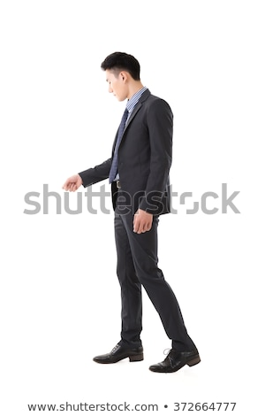 man in Opening Door pose Stock photo © Istanbul2009