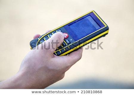 electronic measuring tool  Stock photo © OleksandrO