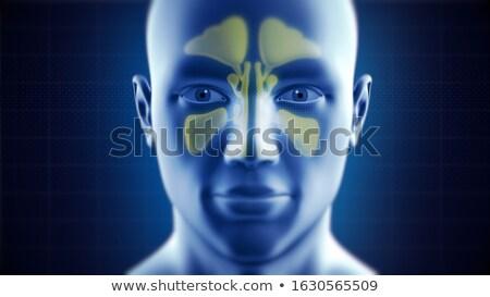tanı · tıp · 3d · illustration · bulanık · metin · gözlük - stok fotoğraf © tashatuvango