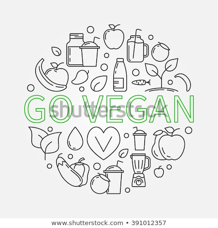 granaatappel · vruchten · witte · eps · voedsel · groene - stockfoto © olena