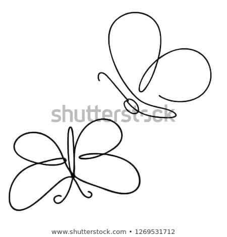 herbe · verte · fleurs · insectes · isolé · blanche · design - photo stock © olena