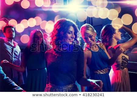 Women having bachelorette party in night club Stock photo © Kzenon