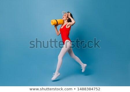 Mulher preto elegante roupa Foto stock © acidgrey
