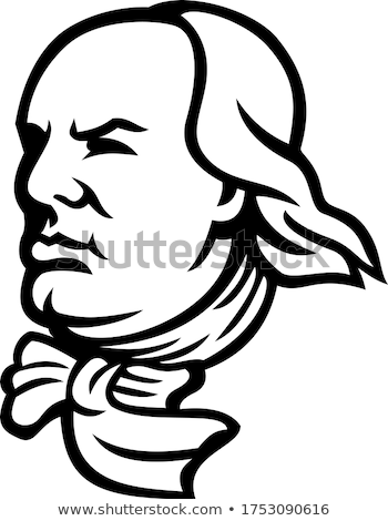 Benjamin Franklin Mascot Stock photo © patrimonio