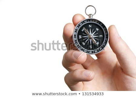 Compass on White Background, Business Concept Stock photo © make