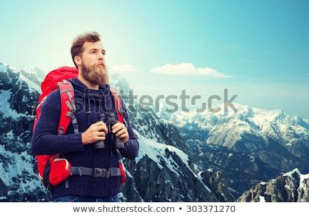 肖像 · 冒險 · 男子 · 徒步旅行 · 山 - 商業照片 © boggy