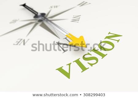 Compass on White Background, Opportunity Concept Stock photo © make