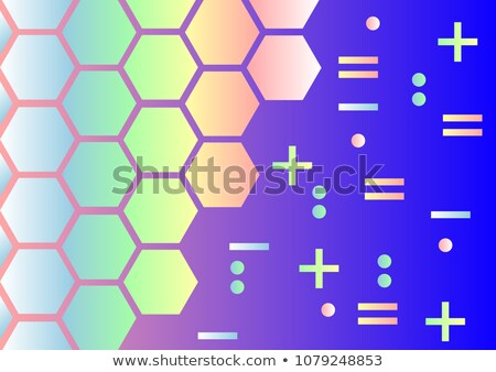 Abstract pearl bright blured gradient background. Vector llustration. Stock photo © ESSL