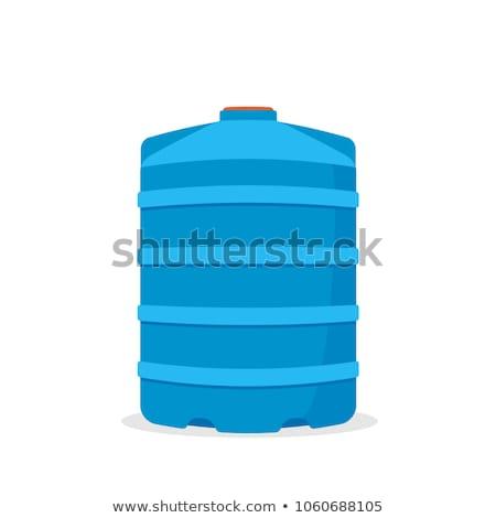 vector of water storage tank Stock photo © olllikeballoon