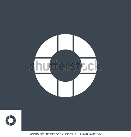 széf · vektor · ikon · izolált · fehér · pénz - stock fotó © smoki